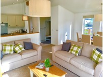 Cambrian Plantation 2 bed ultimate lodge 5 star park in the lake district, Cumbria Windermere lancashire