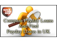 Compare Payday Loans To Find Best Deals Of Payday Loans in UK