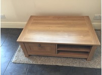 Next Oak effect Coffee Table