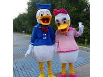 Donald Duck Adult Mascot Costume Hire Rent Fancy Dress Kent London Party