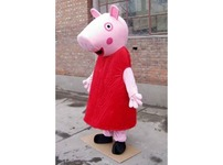Peppa Pig Adult Mascot Costume Hire Rent Fancy Dress Kent London Party