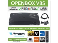 SKY TV  100% GENUINE OPENBOX V8S WITH 12 MONTH FREE GIFT - Plug & Play SKY TV