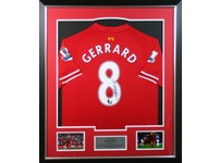 Liverpool Jersey Signed by Steven Gerrard