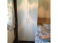 White double doors - Sing Wardbrobe - Mint Condition