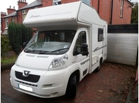 2008 Elddis Autoquest 100 Sunstyle 4 Berth, Peugeot Boxer, fantastic condition