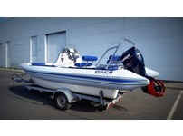 Hysucat Rib boat + Evinrude 90HP Outboard engine