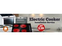 Cooker installer, Hob install, Appliance install, call on