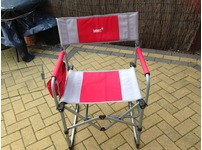 2 canvas camping chairs