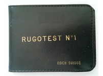 GENUINE ROCH SUISS RUGOTEST No.1 IN LEATHER CASE (Surface comparator)