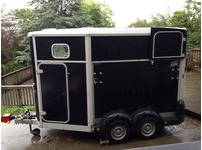 2012 IFOR WILLIAMS 511 TOP OF THE RANGE HORSE TRAILER + EXTRAS ONE LADY OWNER
