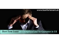 Unemployed Loans Available with No Guarantor Option