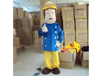 Fireman Sam Adult Mascot Costume Hire Rent Fancy Dress Kent London Party