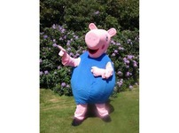 George pig Peppa  Adult Mascot Costume Hire Rent Fancy Dress Kent London Party