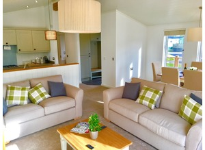 CAmbrian Plantation Double Lodge 2 Bed Luxury Holiday Home In The Lakes