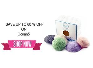 Save up to 60% on Best Facial Cleanser Konjac Sponge Ocean5
