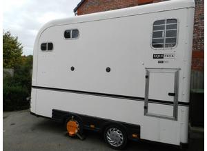 Equitrek Space Treka L (Large) White 2009 - Horse Trailer - VGC - One Owner