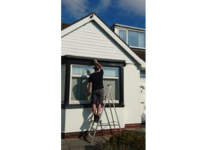 Handyman covering Lytham St Annes and surrounding areas- fascia and gutter repairs, and handyman services.