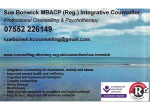 Counsellor based in St. Austell