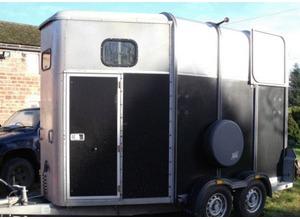 black classic horse trailer for sale