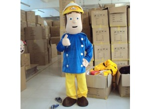 Fireman Sam Adult Mascot Costume Hire London Kent UK Mainland