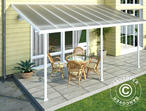 Carport/ Patio Cover Feria 3x5.46 m, White