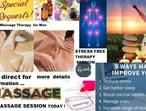 ******* REWARD YOUR SELF WITH AN ALTERNATIVE  BODY MASSAGE THERAPY FOR MEN *********