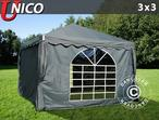 Marquee UNICO 3x3 m, Dark Grey