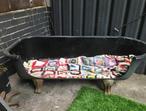 Cast iron bath seating indoor or outdoor