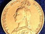 Queen Victoria 22ct Full Gold Sovereign.