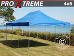 Pop up gazebo FleXtents Xtreme 4x6 m Blue