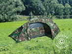 Camouflage tent Woodland RECOM, 1 person