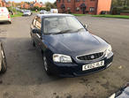 Hyundai Accent, 2002 (02) Blue Hatchback, Manual Petrol, 80,000 miles