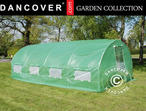 Polytunnel Greenhouse 3x6x2 m, Green