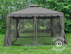 Gazebo Osiris 3.5x3.5 m, Grey