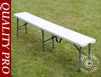 Folding Bench 183x28x43 cm (25 pcs.)