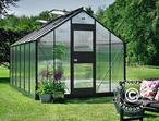 Greenhouse Polycarbonate Juliana Junior 12.1m, 2.77x4.41x2.57 m, Anthracite