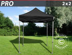 Pop up gazebo FleXtents PRO 2x2 m Black