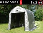 Storage tent PRO 2x2x2 m PE, Grey
