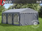Marquee UNICO 3x6 m, Dark Grey