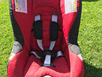 Britax car seat, front and rear facing.