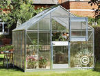 Greenhouse Polycarbonate Juliana Junior 8.3m, 2.77x2.98x2.57 m, Aluminium