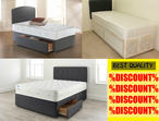 %DISCOUNT% DOUBLE/SINGLE DIVAN BED SET