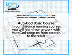 AutoCad Distance Learning Courses Tutorials