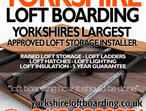 Yorkshire Loft Boarding - Use your loft for storage