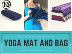 Buy Yoga Mat And Bag Online | Yoga Studio