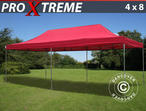 Pop up gazebo FleXtents Xtreme 4x8 m Red
