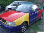 LHD Volkswagen Polo, 1997 (F) Rainbow Colour. saloon, Manual Petrol, 91,000 miles