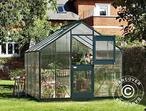 Greenhouse Polycarbonate Juliana Junior 8.3m, 2.77x2.98x2.57 m, Anthracite