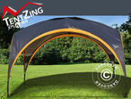 Camping shelter, TentZing, 3.5x3.5m, Orange/Dark Grey