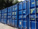 Steel shipping container storage - very secure